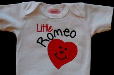 Valentine s Day Baby Boy Clothes Tie Bodysuit