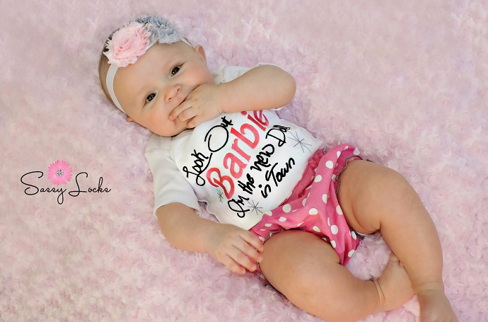 Baby Girl Clothes Bodysuit Embroidered Baby Girl Clothes Newborn ...