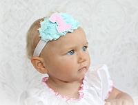 First Birthday Headband 1 Create Your Own