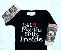 Did 9 Months On The Inside Baby Boy Tattoo Sleeve Bodysuit