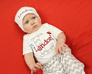 Airplane Personalized Boy Outfit / Build your outfit
