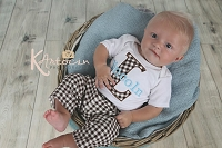 Baby Boy Clothes / Brown & Blue