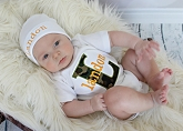 Personalized Baby Boy Camo Outfit