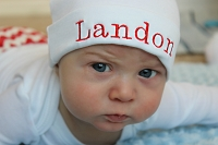 Infant Hat Personalized Beanie Hat