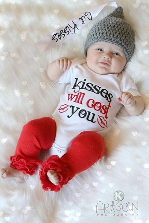 Personalized Christmas Outfit Reversible Pinafore Sassy