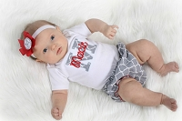Baby Girl Personalized Quartrefoil Baby Girl Clothes Diaper Cover Bodysuit