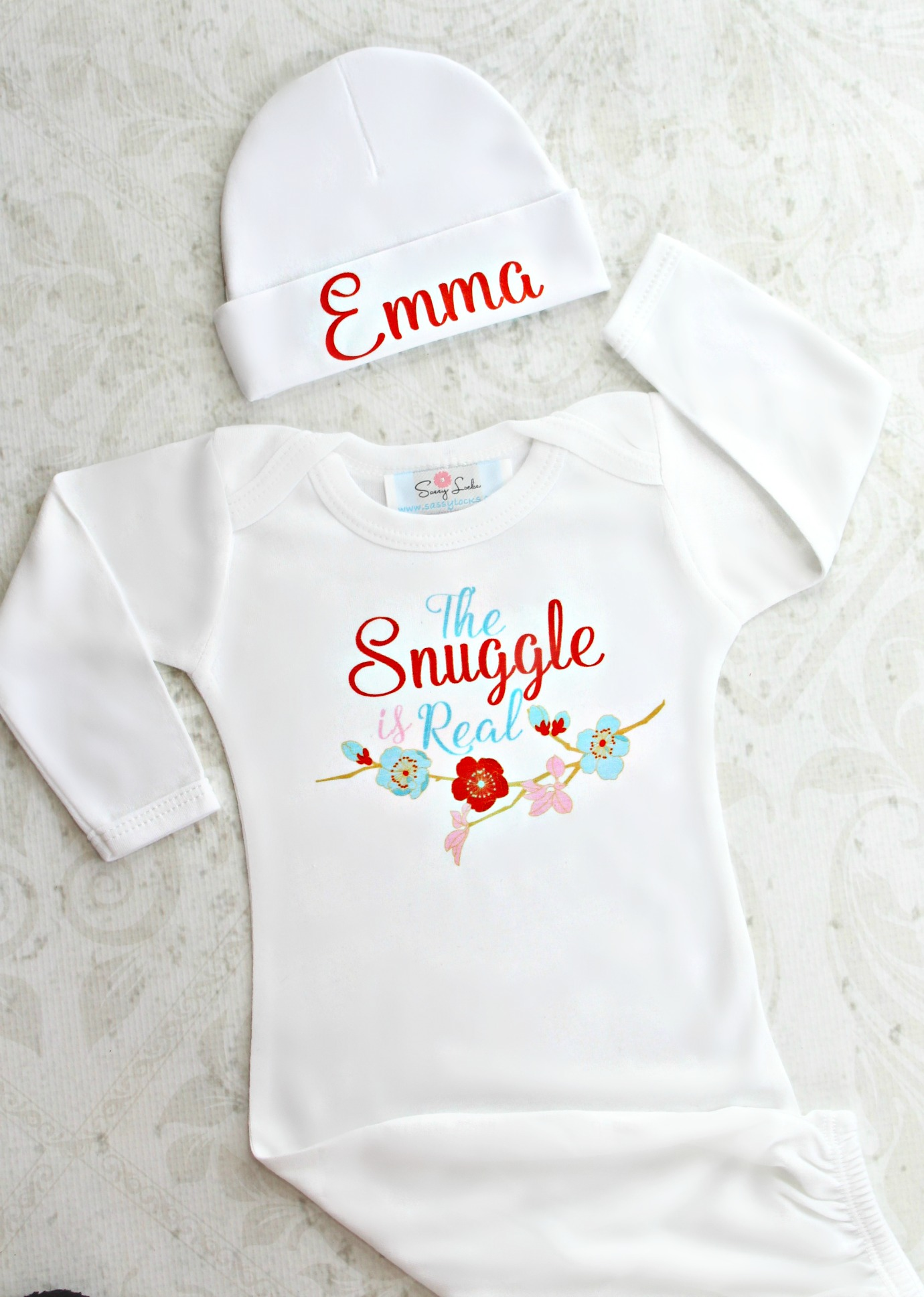 6baff72ed The Snuggle Is Real Baby Girl Outfit