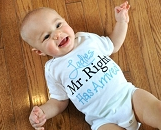 Baby Boy Clothes / Ladies Mr. Right Has Arrived