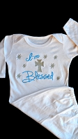 I'm Blessed Newborn Gown