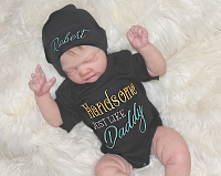 Handsome Just Like Daddy Bodysuit