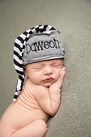 Personalized Infant Knot Hat