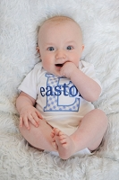 Personalized Baby Boy Clothes Take Home Outfit Monogram Boy Bodysuit
