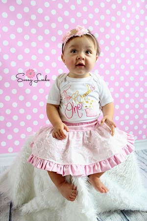 Baby Girl First Birthday Outfit This Cupcake Is One