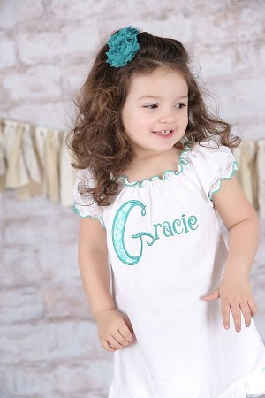 Girl Personalized Dress