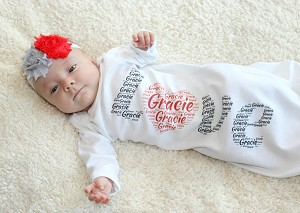 Personalized  Love Gown