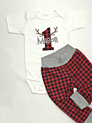 First Birthday Boy Outfit / Mr. ONE Derful