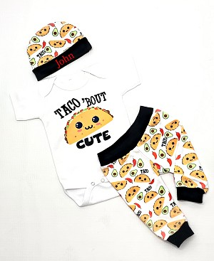Taco 'Bout Cute Baby Taco Outfit